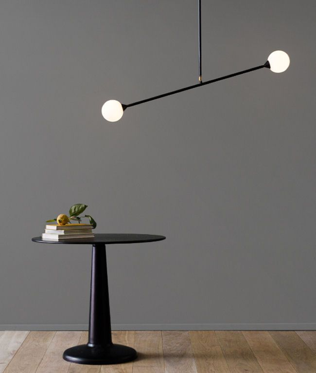 Two Spheres ceiling lamp by Atelier Areti