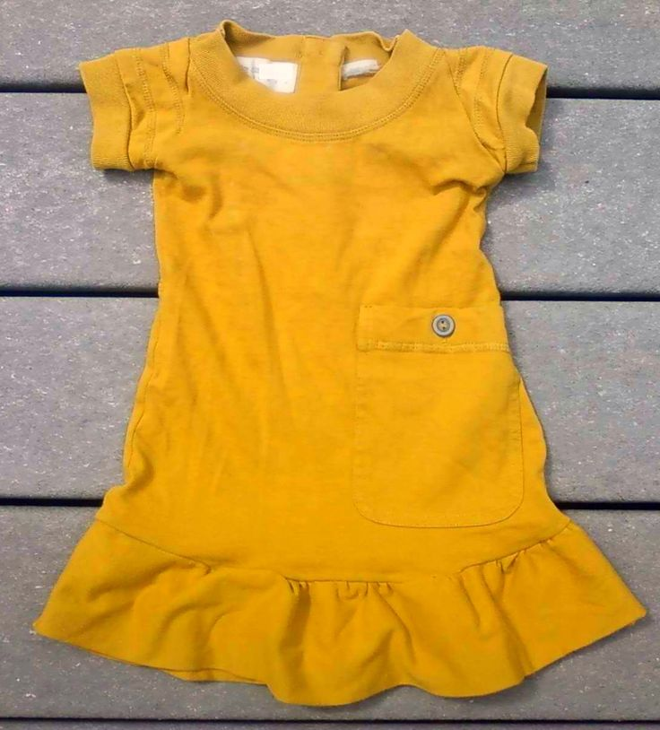 Upcycled Tee Shirt to Toddler Dress Tutorial