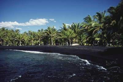 Playa de Punaluu Beach, Hawái (Perspectives).