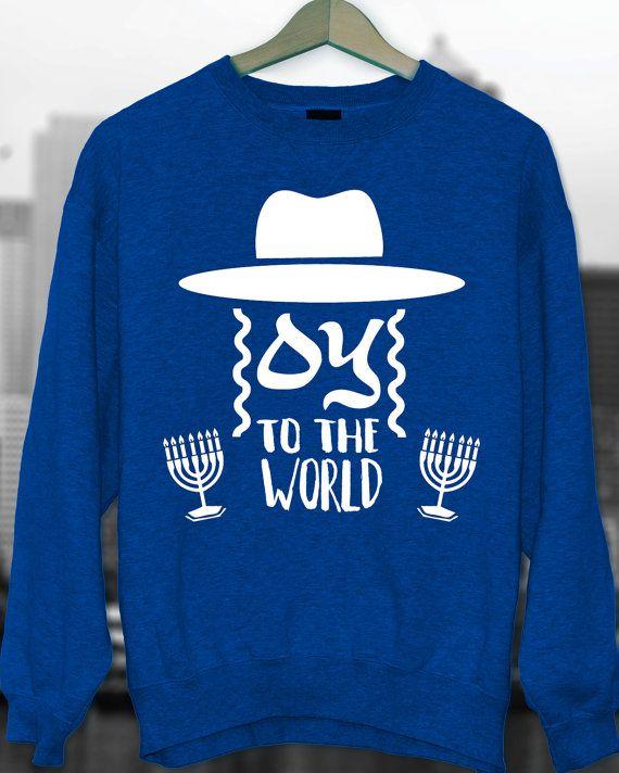 Happy Hanukkah Ugly Hanukkah Hanukkah Sweater Joy by styleURshirt