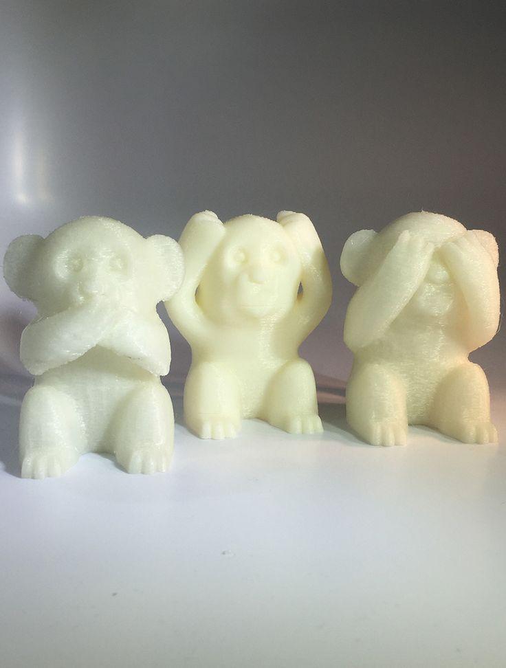 Catalogue : Les trois singes