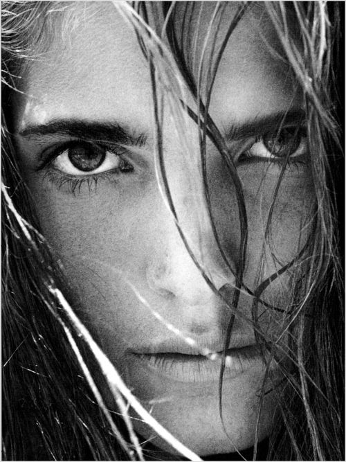 Stephanie Seymour by Herb Ritts