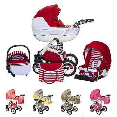 Baby pram stroller buggy #pushchair #evado travel system 3in1 2in1 #swivel wheel, View more on the LINK: http://www.zeppy.io/product/gb/2/141900219096/