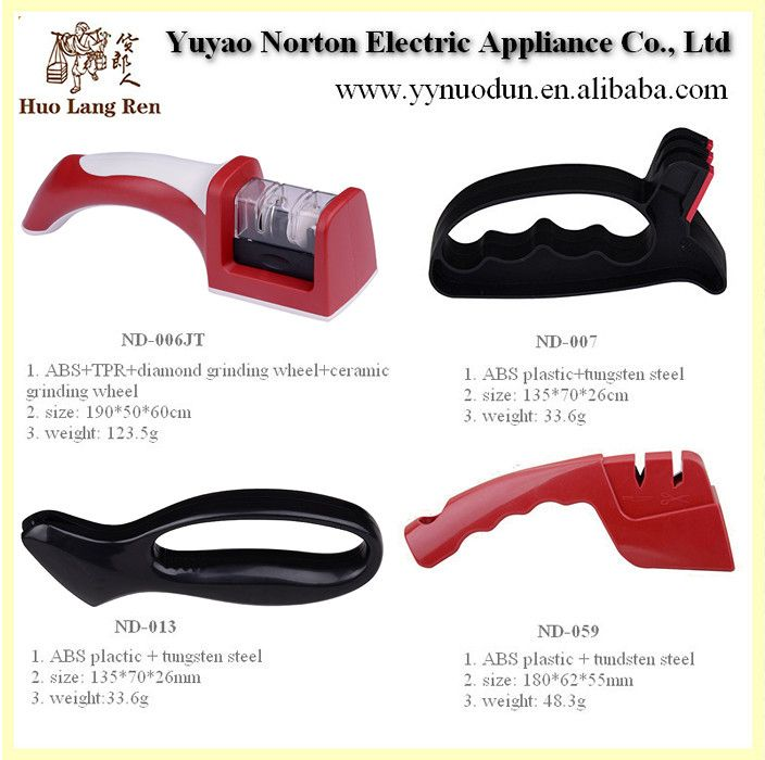 China Kitchen Promotional Knife Sharpener With Suction Pad - Buy Promotional Knife Sharpener,New Knife Sharpener,Home Knife Sharpener Product on Alibaba.com