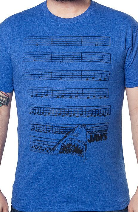 Music Jaws Shirt