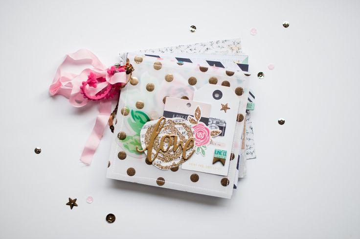 Love Mini Album - Maggie Holmes Confetti by alexesmariebrown at @studio_calico