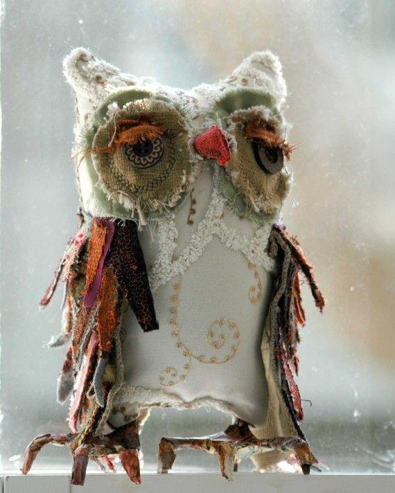"""Into-the-Woods Woodland Owl Henrietta"" lorinichols #Etsy"