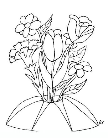 10 best Drawings of flowers images on Pinterest Adult coloring - copy free coloring pages of hibiscus flowers