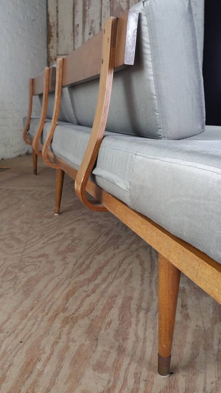 monumental 9 foot mid century modern daybedsofa