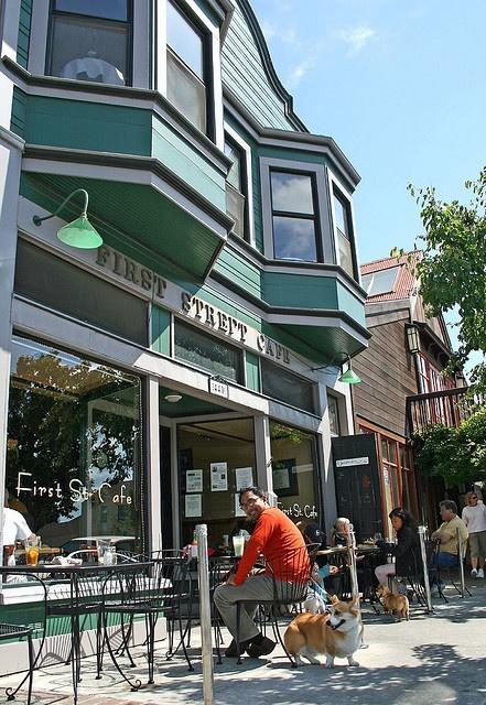 First Street Cafe, Benicia, California