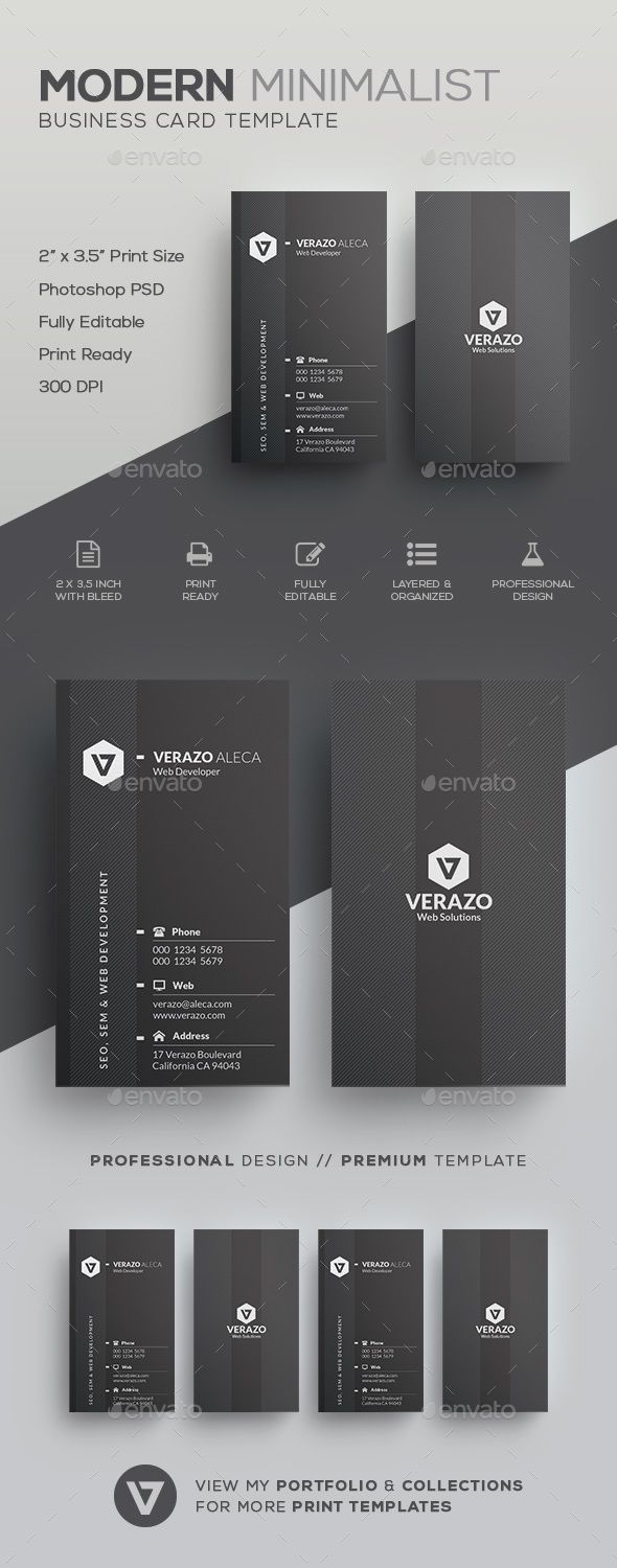 Minimal Business Card - Corporate Business Cards Download here : https://graphicriver.net/item/minimal-business-card/19690548?s_rank=28&ref=Al-fatih