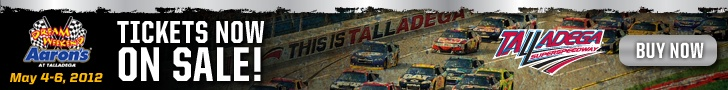 The best NASCAR track on earth....Talladega Superspeedway