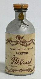 Parfum Flakon Vintage Molinard Sketch