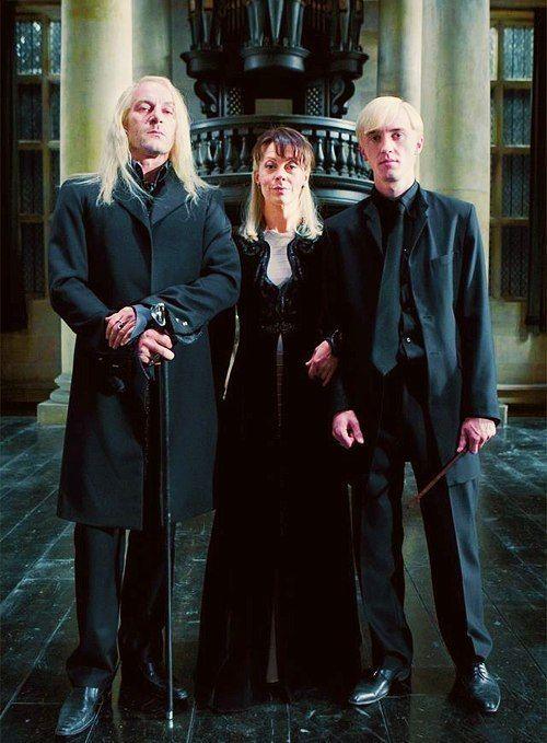 The Malfoys family. Lucius Malfoy, Narcissa Malfoy, Draco ... Theodore Nott Actor