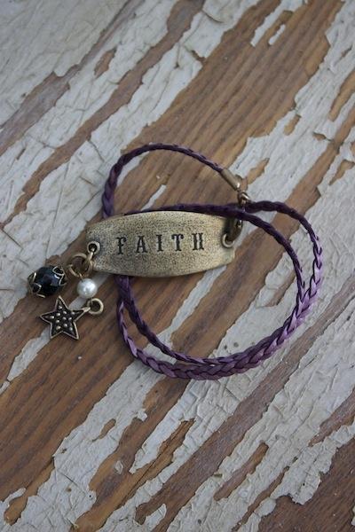 Faith & Star Braided Wrap - Lenny & Eva