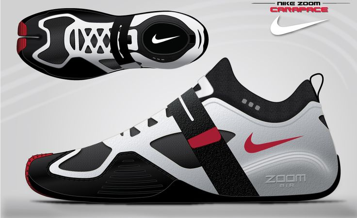 Nike Zoom Carapace concept- white