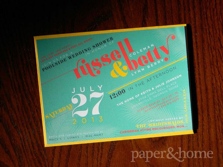 12 best shower images – Jamaican Party Invitations