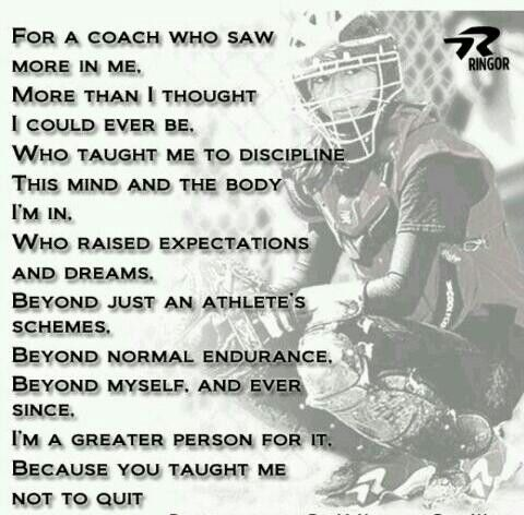 For coach Scott who saw more than 11 misfits That no one wanted on their team and who turned us into state champions!