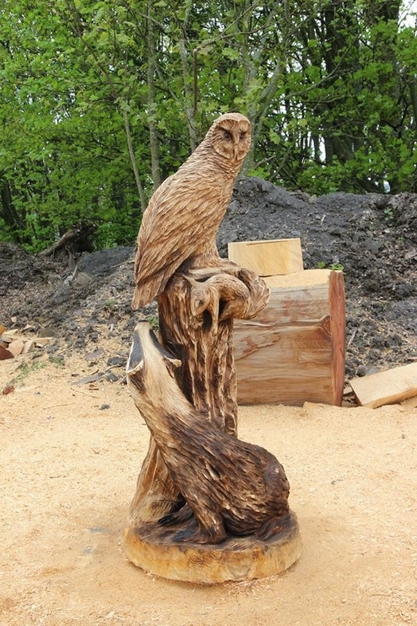 Images about chainsaw carvings on pinterest