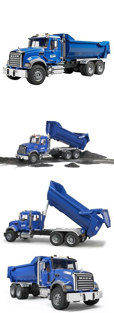Contemporary Manufacture 152934: Bruder Mack Granite Halfpipe Dump Truck -> BUY IT NOW ONLY: $83.52 on eBay!