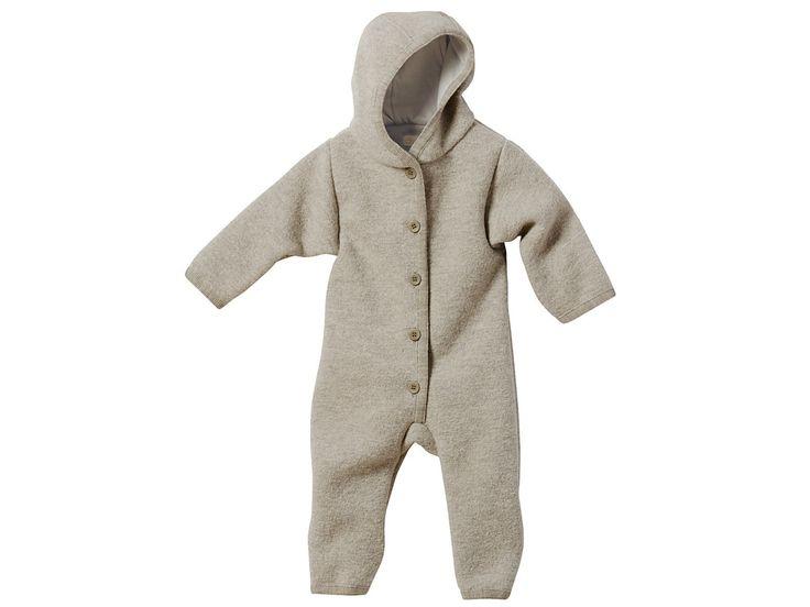 Disana Baby Walk-Overall grau