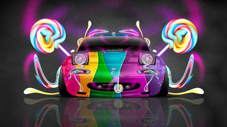 Mazda Miata JDM Style Front Fantasy Candy Car