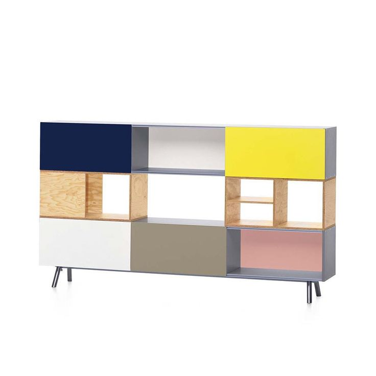 """""""The #Kast #storage system was #designed by #MaartinVanSeverin  in #2005. While this #modular #design starts as a simple #sideboard, adding second layer…"""""""