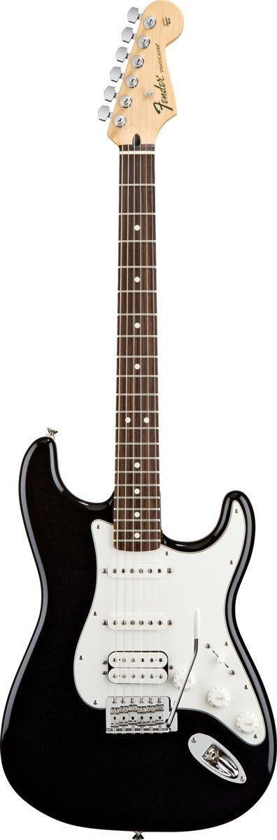 Fender Standard Stratocaster HSS Electric Guitar www.guitaristica.org #electricguitar #guitars #guitaristica