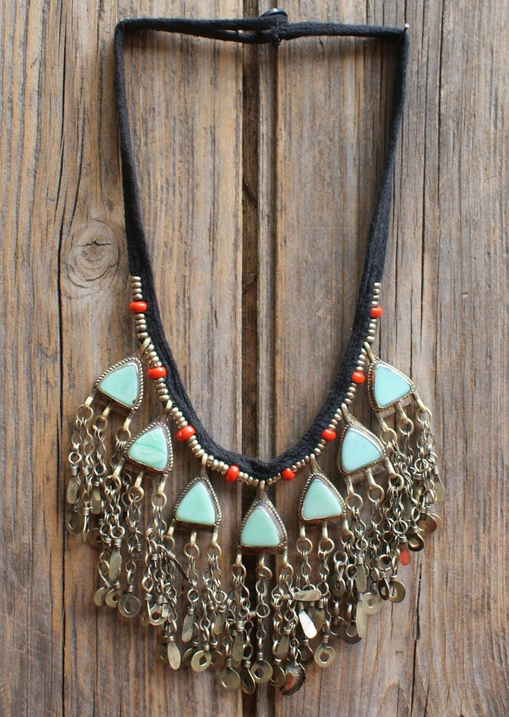 Karma East - Vintage Tribal Necklace 11