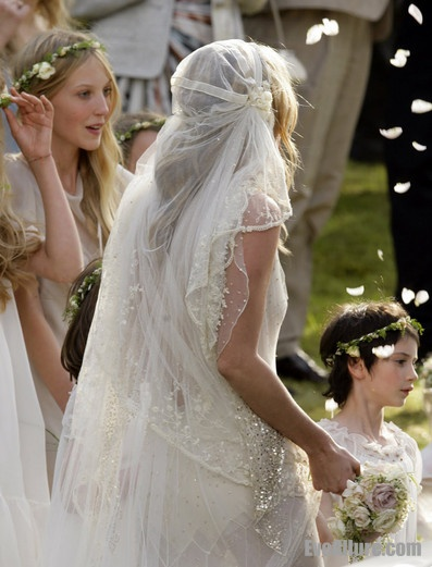 Kate Moss S Wedding Gown