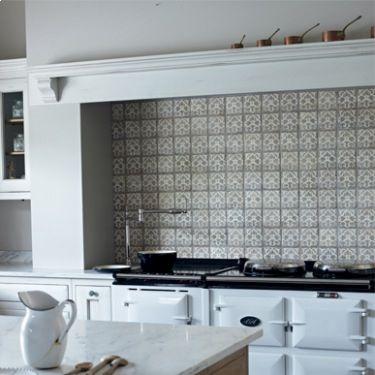 Terracotta Kitchen Tiles Wall Emma S Happy