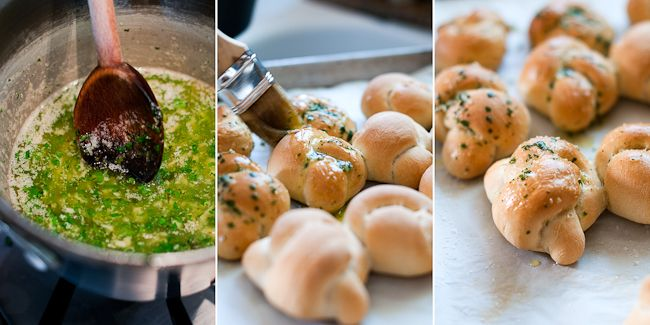 @Caitlin Burton Johnson Nommy Garlic Knots - Untested as of yet, but they look delicious!