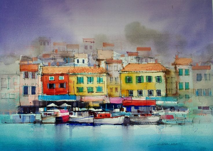 Cassis Waterfront - John Lovett.
