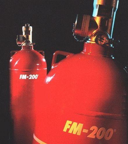 FM200 Gazlı Söndürme Sistemleri