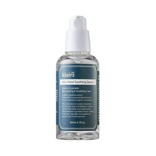 [Klairs]. - Contents : 80ml. Rich Moist Soothing Serum, a gentle, aqueous serum, is a concentrated formula. Rich Moist Soothing Serum. May be applied as a target treatment.   eBay!