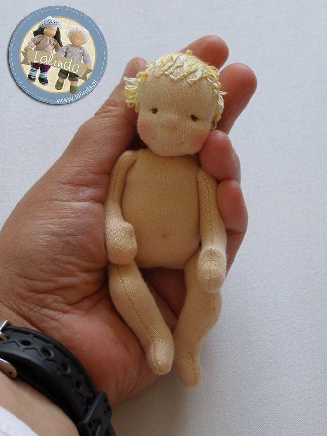 Süsse kleine Puppe - gesehen bei lalinda.pl