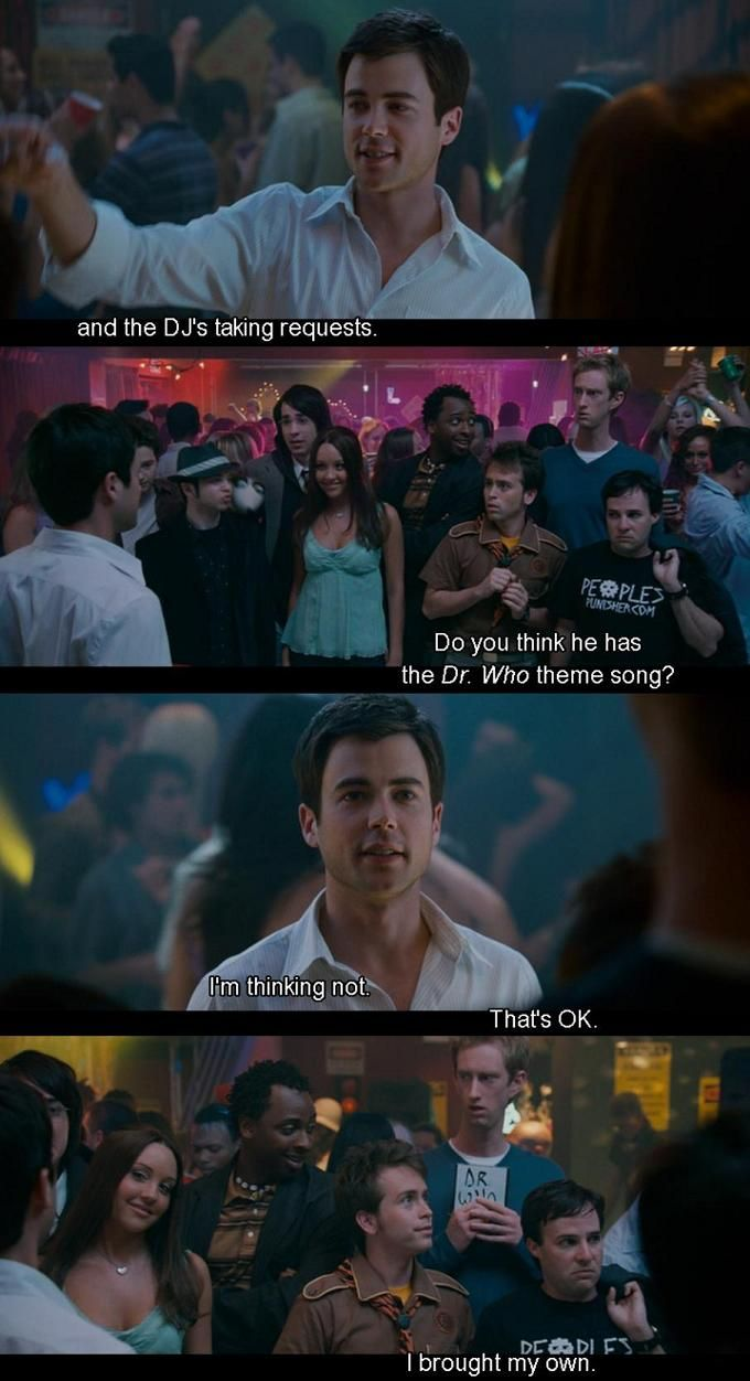 Sydney White - The Doctor Who Theme Song. Possibly best moment in that whole movie ;)