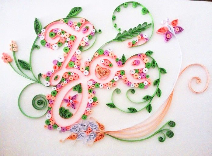 Quilling name ~ Zoe by Suza59.deviantart.com on @deviantART