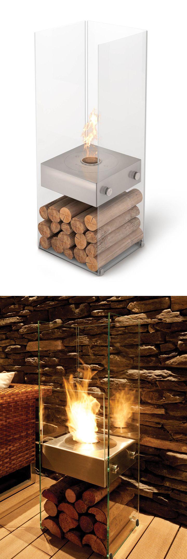 best  portable fireplace ideas on pinterest  ethanol fireplace  - portable fireplace  uses environmentally friendly bioethanol fuel