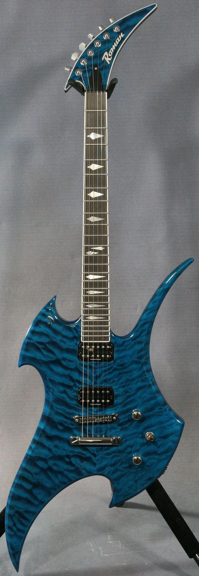 28 best images about guitar painting on pinterest jazz firebird and peacock blue. Black Bedroom Furniture Sets. Home Design Ideas