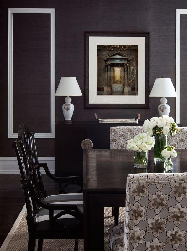 grasscloth dining room ile ilgili pinterest'teki en iyi 25'den