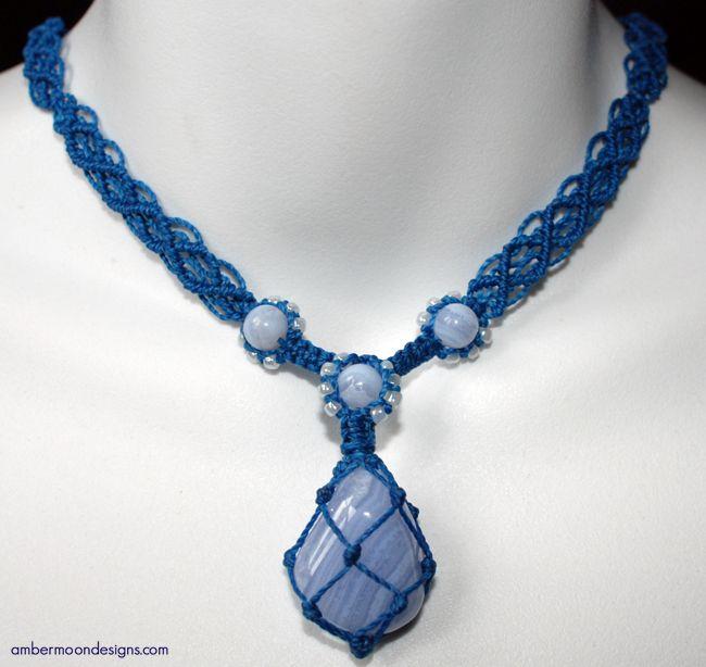 Macrame Necklace ~ Inspiration