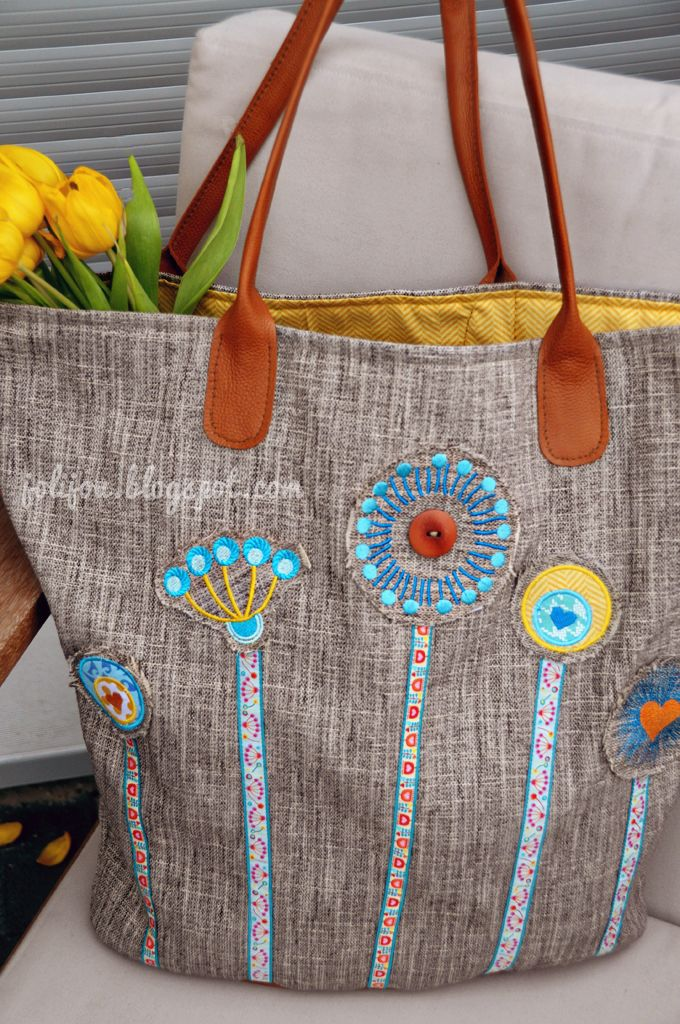 my new shopper | pusteblumen stickdatei - Jolijou