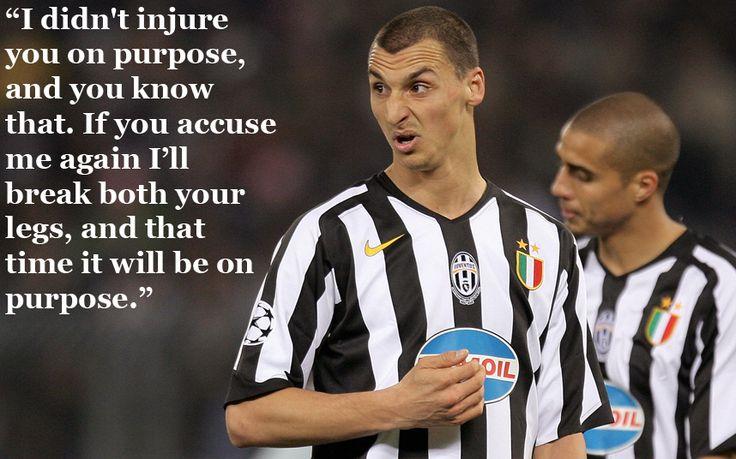 Zlatan Ibrahimovic - Zlatan Ibrahimovic: The 19 most ridiculous things he has ever said