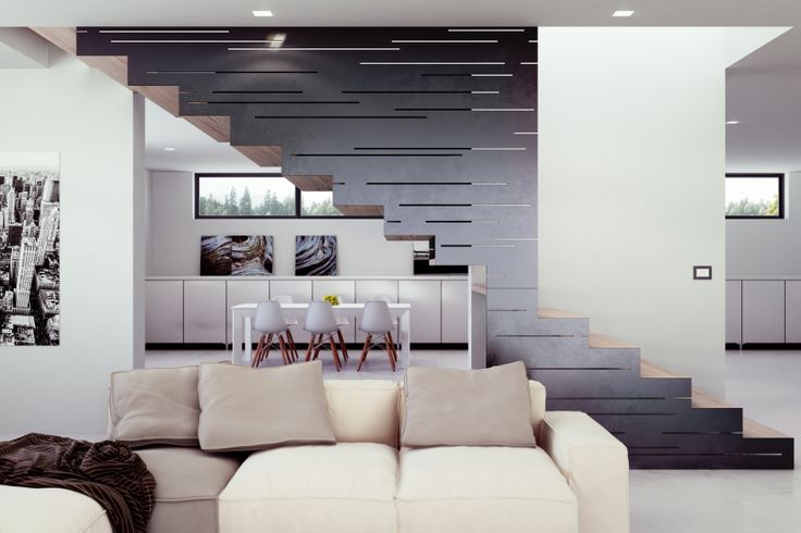 Black carbon - #stairs #design #madeintaly   rendering by Visual 4 D-