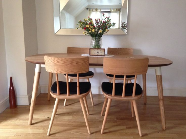 25 beste idee n over chaise style scandinave op pinterest for Table scandinave avec rallonge