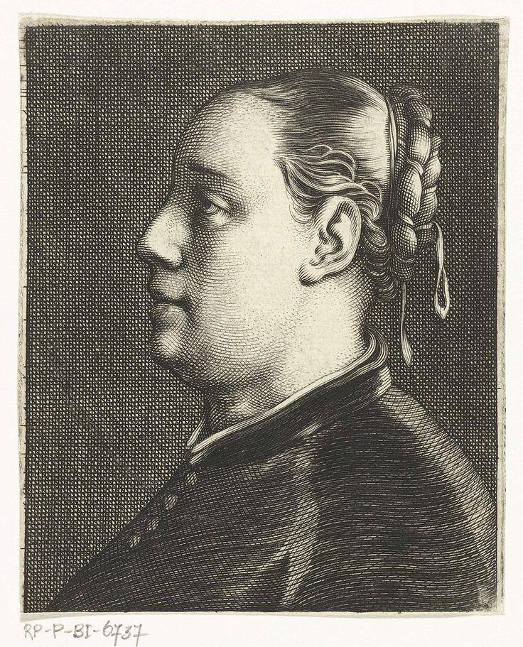 Cornelis van Dalen (I) | Buste van vrouw met opgestoken haar, Cornelis van Dalen (I), 1612 - 1665 |