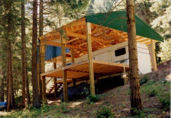 Rv Deck Plans Register For Vip Porch For Rv Caravan