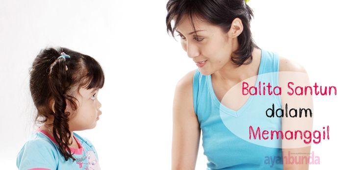 Perkenalkan anak dengan budaya sopan-santun, dimulai dari cara memanggil orang lain. Klik link di atas untuk informasi lengkapnya