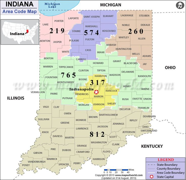 Indiana Area Code Map Google Search Indiana Areas Pinterest - Michigan area code map